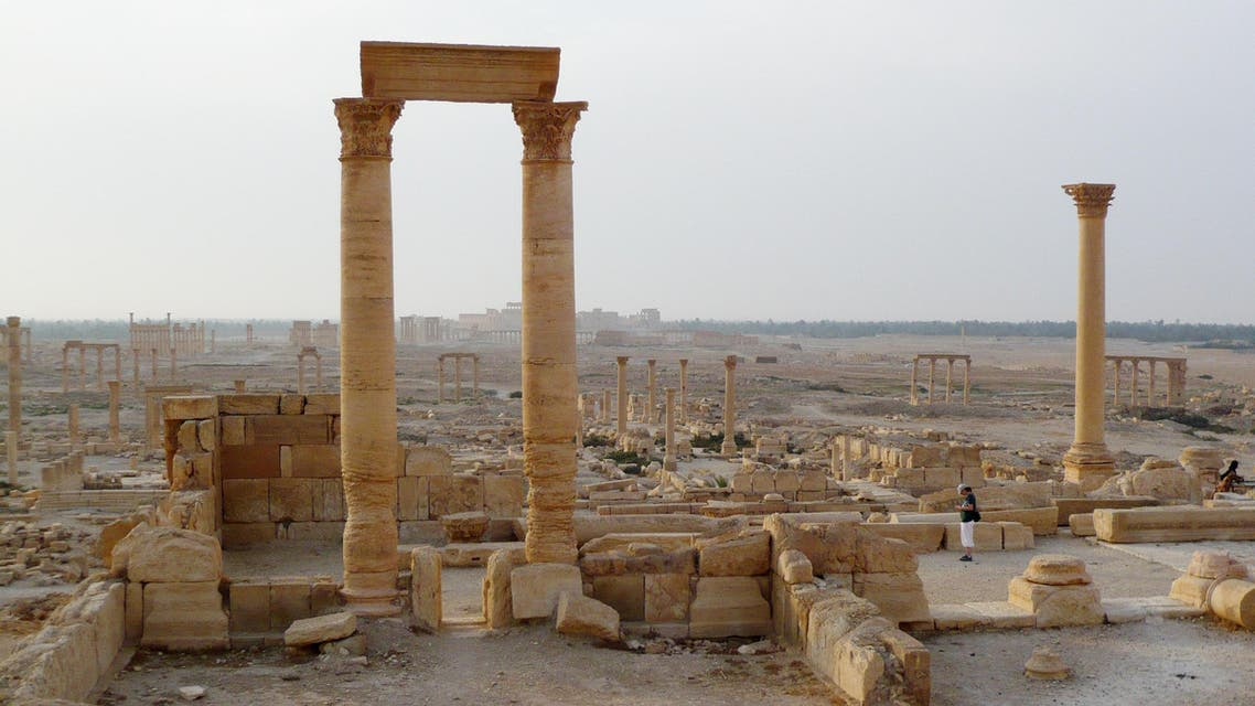 Palmyra in Ruins