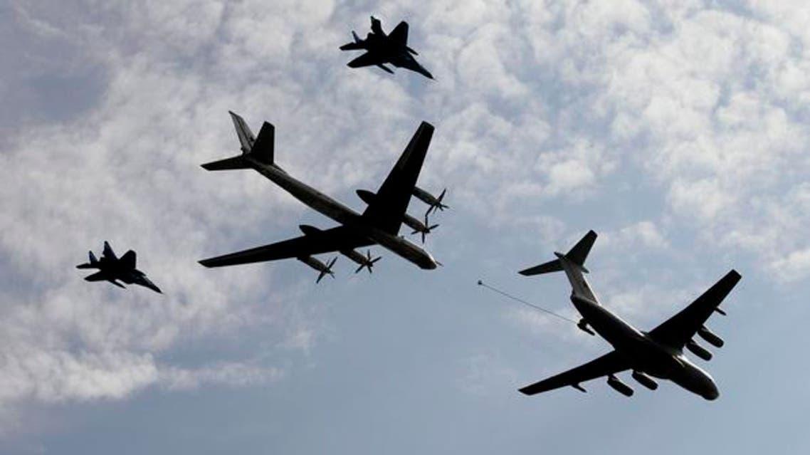 طائرات روسية حربية