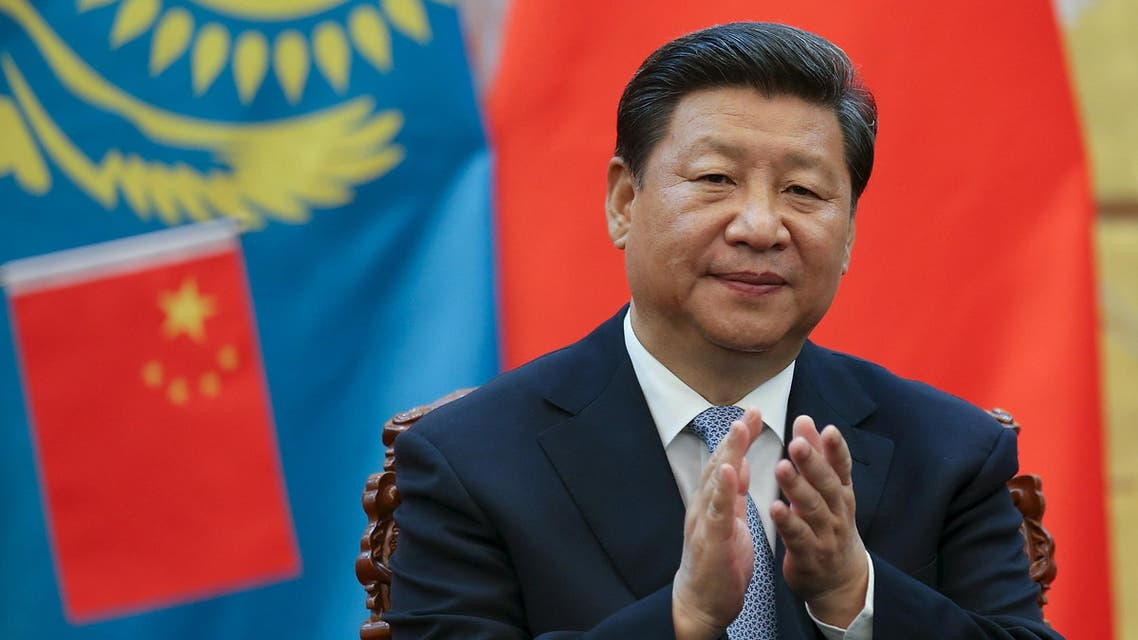 Chinese President Xi Jinping attends a signing ceremony with Kazakhstan President Nursultan Nazarbayev (not pictured) at the Great Hall of the People in Beijing. (Reuters)