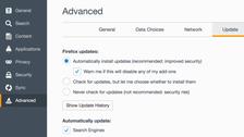 طريقة منع فايرفوكس من التحديث تلقائيًا