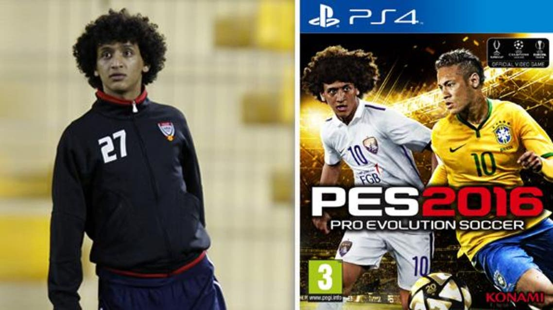 UAE star striker Omar Abdulrahman has reached another milestone in his career, this time in the virtual world with his picture emblazoned across the cover of the Middle East edition of the latest version of Pro Evolution Soccer