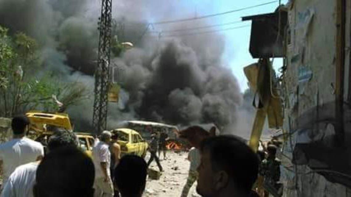 انفجار في اللاذقية