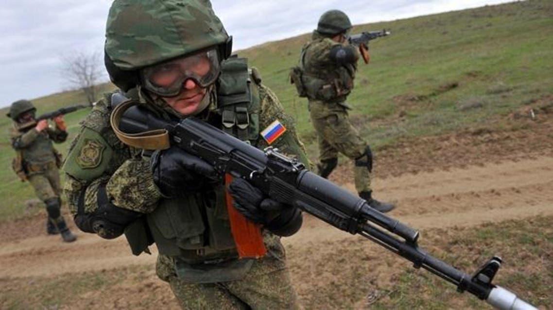 جنود روس لدعم الأسد
