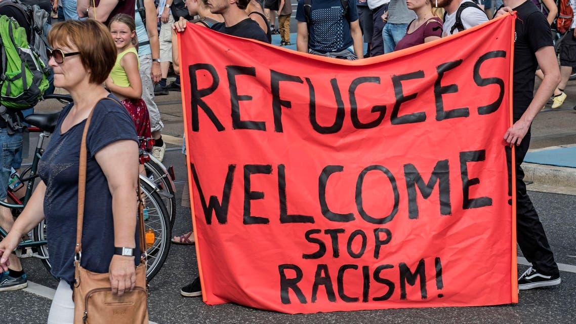 refugees banner
