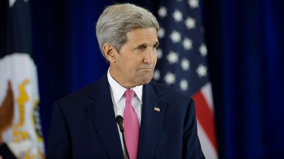 Kerry did not say which countries might be persuaded to take part in a ground operation. (File photo: AP)