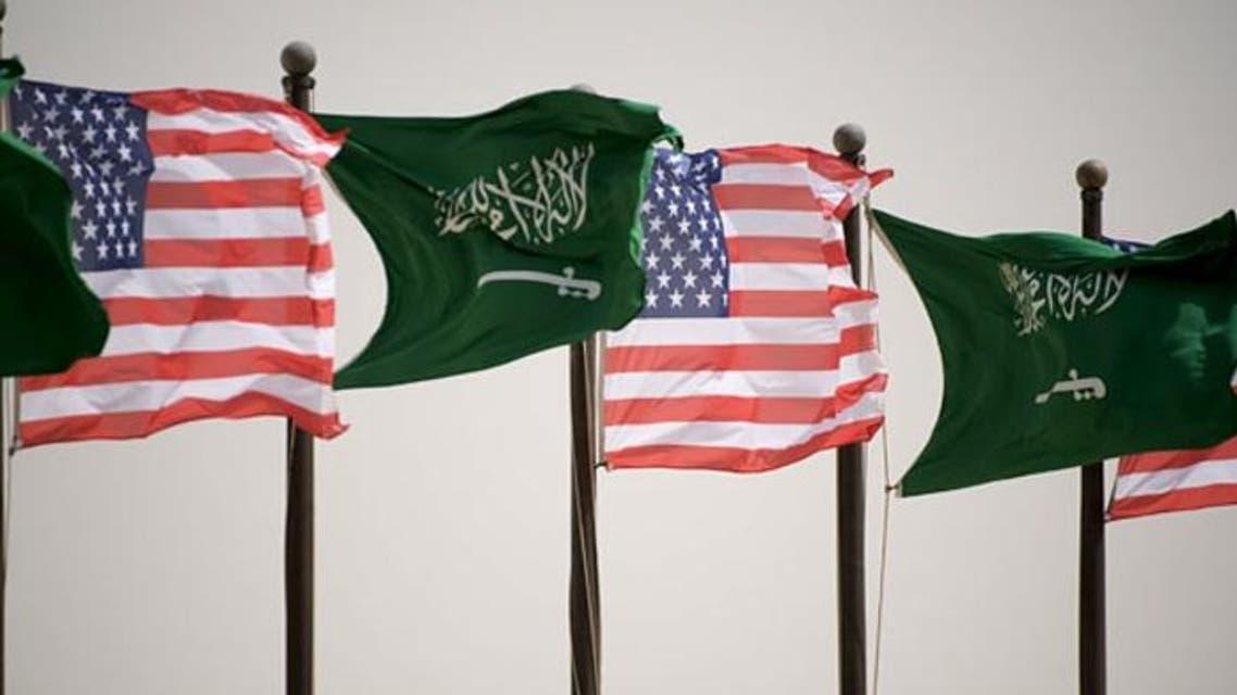 saudi u.s. flag photo courtesy of epa
