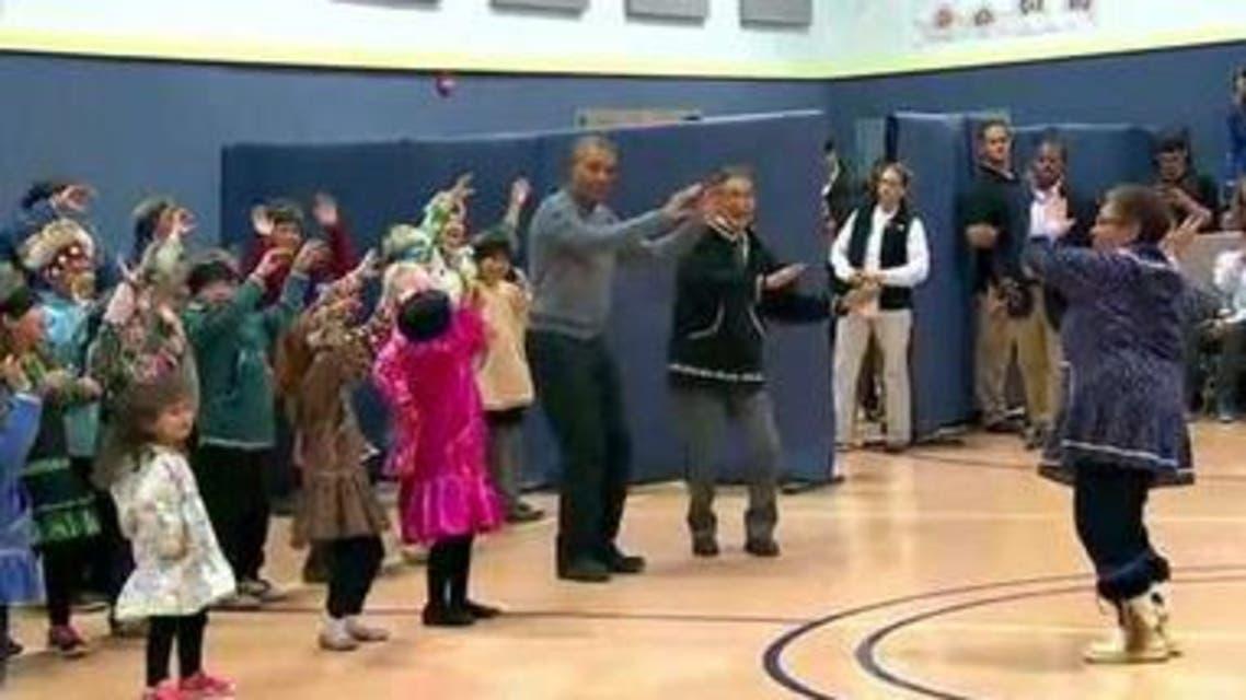 obama dancing youtube grab