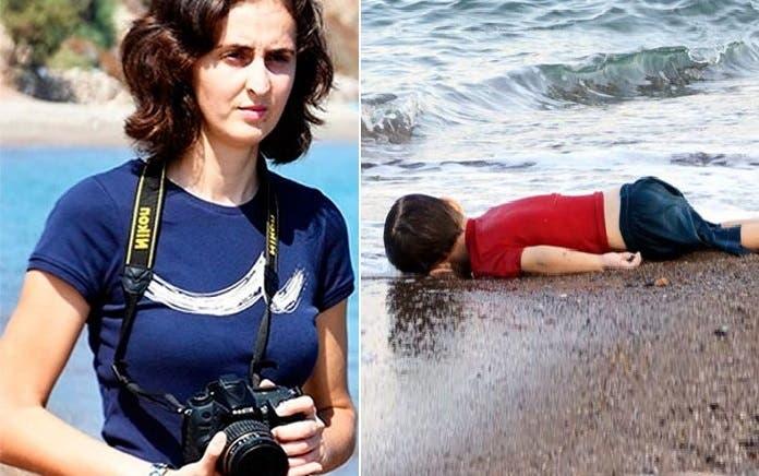 نوليفر ديمير، لولا التقاطها لصورة آلان الصغير، لماشعر العالم ربما بمأساة اللاجئين كما هو الآن