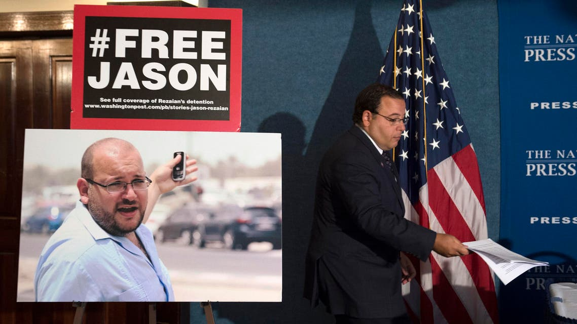Rezaian was arrested over a year ago and has been held for months without charges in Iran's Evin Prison. (File photo AP)