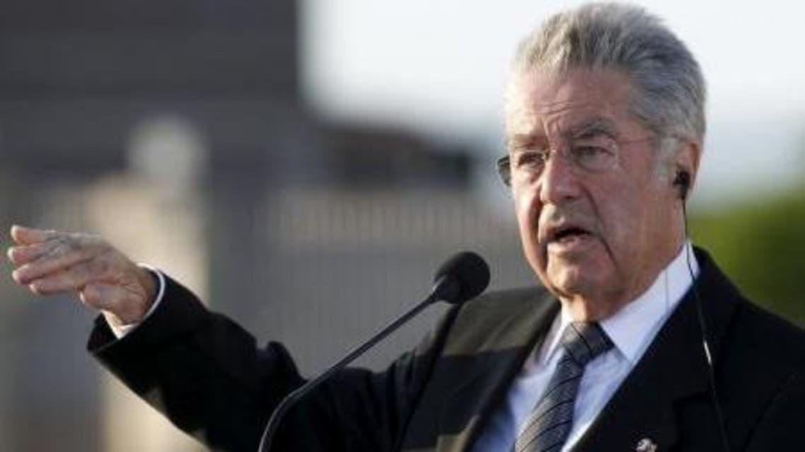 الرئيس النمساوي هاينز فيشر