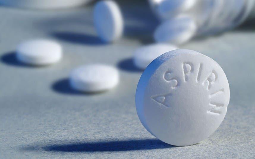 A sock image of aspirin. (File photo)