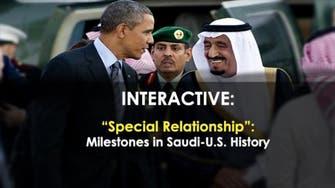 'Special Relationship':  Milestones in Saudi-US History
