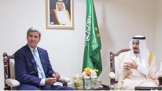 Saudi King meets with Kerry ahead of summit