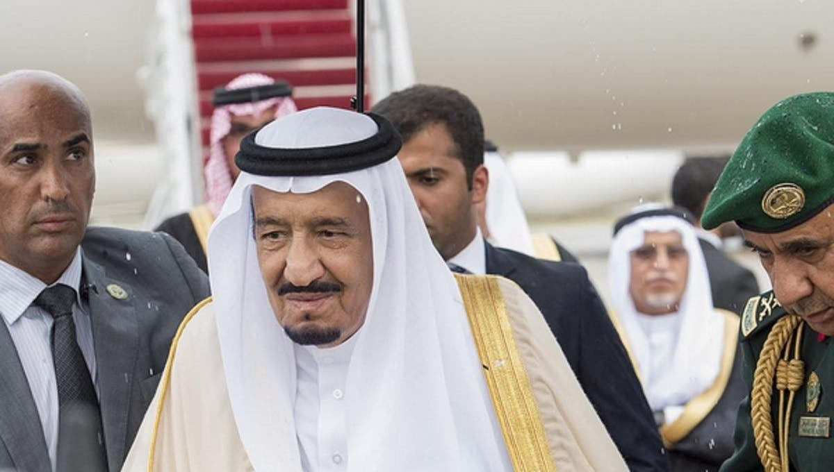 King Salman arrives in the U.S. ahead of summit talks with President Obama. (Photo courtesy: SPA)