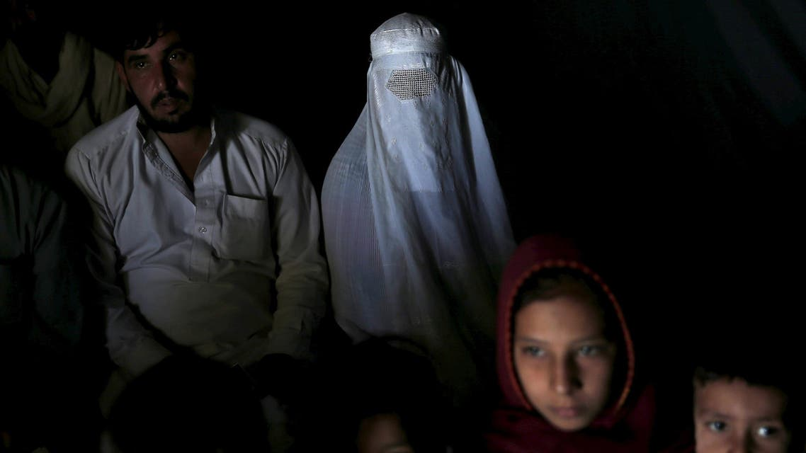 An Afghan family, returning from Pakistan, in Kabul, Afghanistan September 2, 2015. (Reuters)