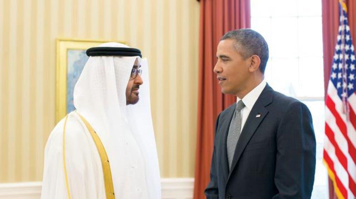 أوباما - محمد بن زايد 3