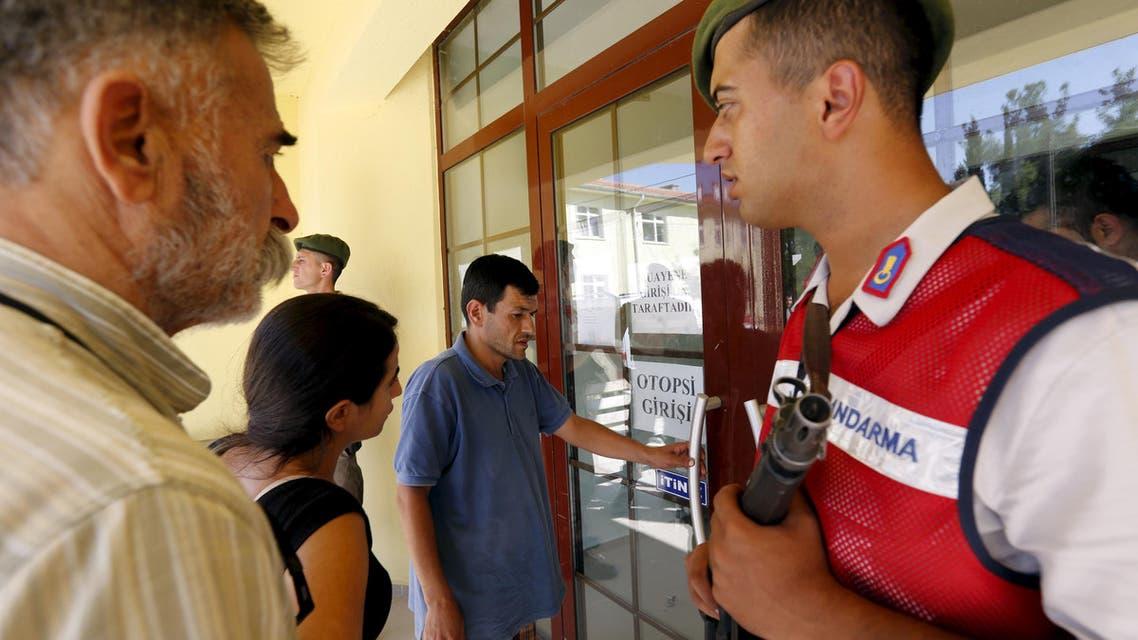 Aylan Kurdi's grieving family