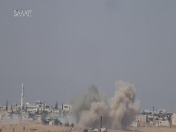 سوريا..تقارير دولية تؤكد قيام داعش بقصف مارع بالكيمياوي
