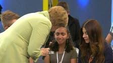 Palestinian girl who cried before Merkel gets German residency