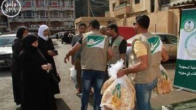 الحملة السعودية توفر الخبز لـ120 ألف عائلة سورية