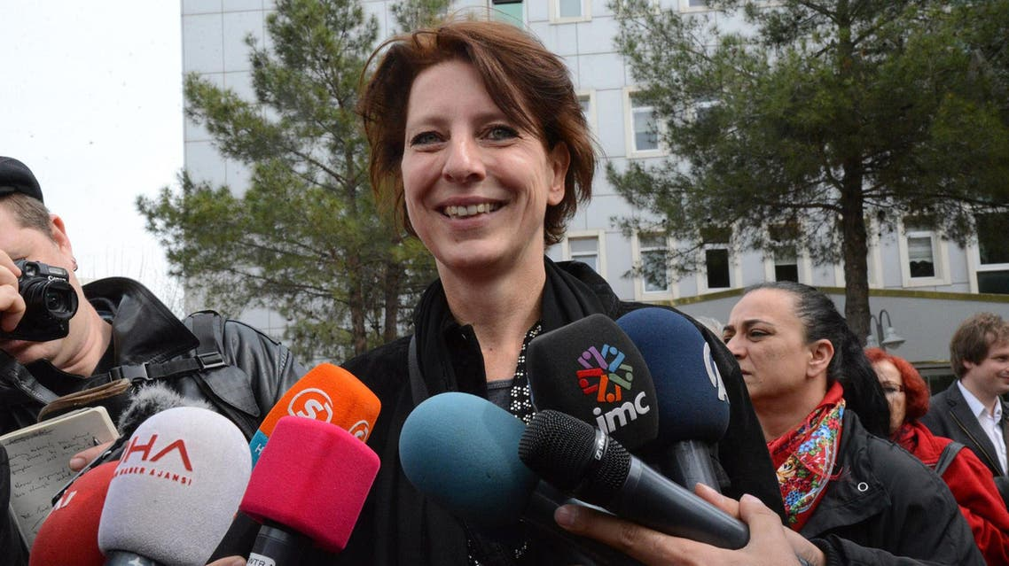 Frederike Geerdink is a freelance journalist based in the mainly Kurdish southeastern city of Diyarbakir. (File photo: AFP)
