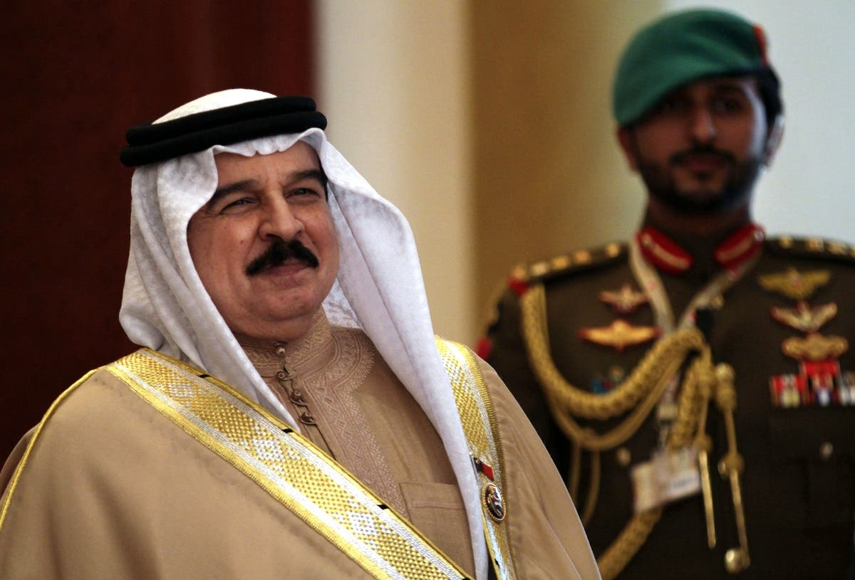 King Hamad and Sheikh Nasser File photo Reuters