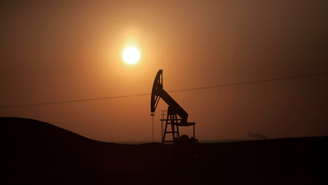 View of an oil field under control of Kurdish militias near the town of Deriq, in a Kurdish area of Syria, near the border with Iraq, Saturday, March 2, 2013. (AP)