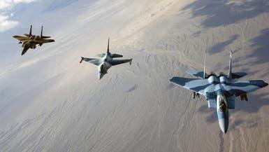 العراق.. التحالف يقصف داعش قرب وادي حوران بالأنبار