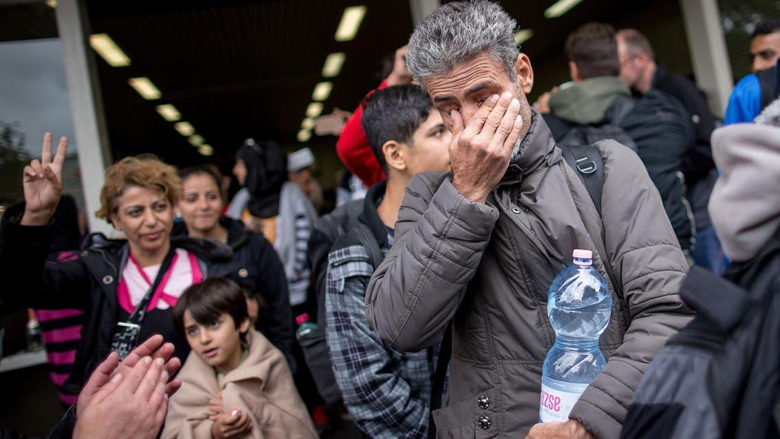 وصول لاجئين إلى ألمانيا