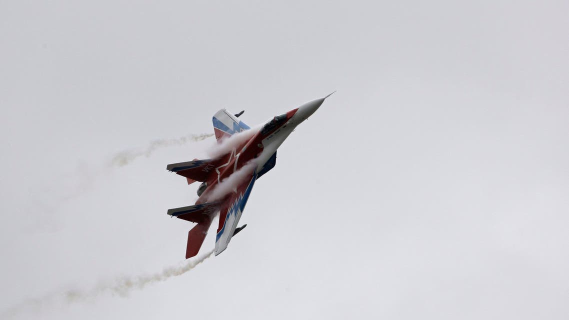 Russian arms manufacturer MiG told Russian news agencies Friday, May 31, 2013 that it is signing a contract to deliver at least 10 fighter jets to Syria. (File photo: AP)