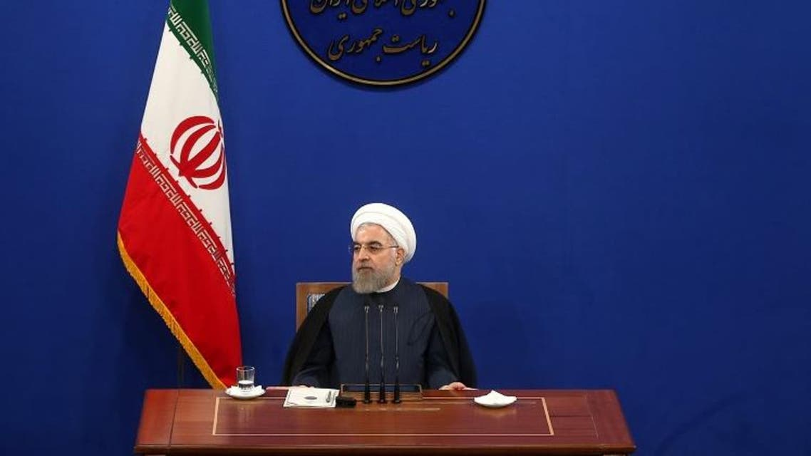 Iranian President Hassan Rouhani speaks during a press conference in Tehran, Iran, Saturday, Aug. 29. (File photo: AP)