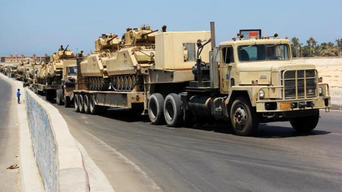 حملة للجيش المصري  في سيناء