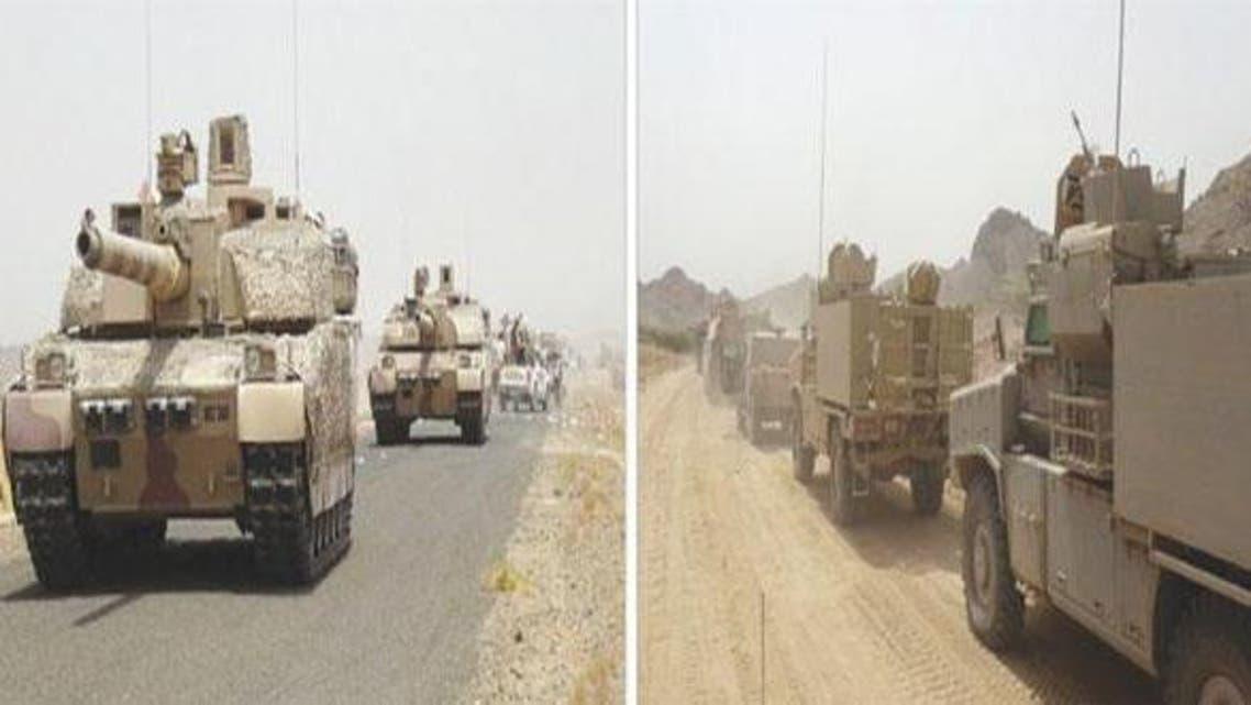 تعزيزات عسكرية عربية في مأرب
