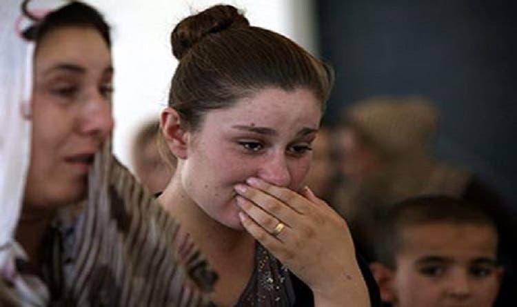 إيزيدية من ضحايا داعش في العراق