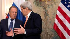 روسيا: لافروف وكيري بحثا موضوع سوريا قبل اجتماع فيينا