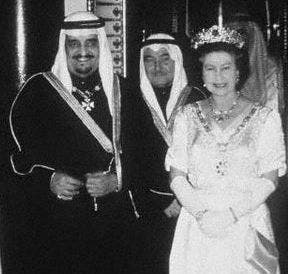 one particular Gulf ruler that was perhaps closer to the Queen than others,  was the late Saudi King Fahd bin Abdulaziz.