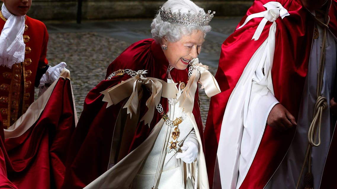 The Queen's jewel vault