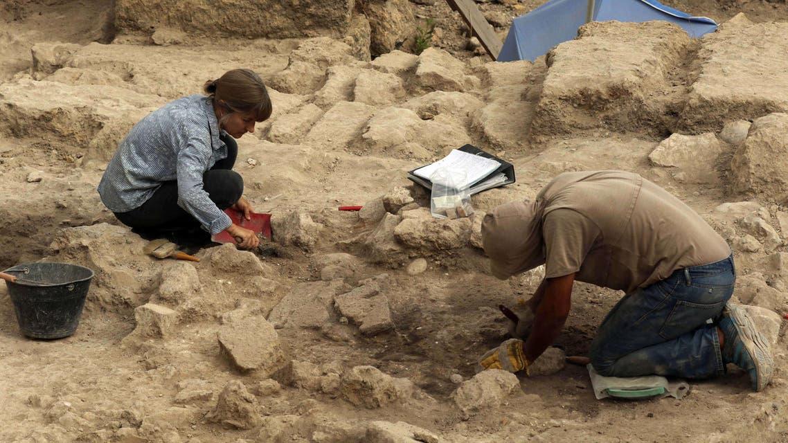 اكتشاف آثار في صيدا