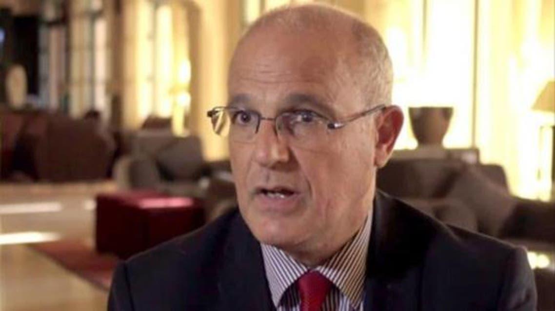 السفير البريطاني في السودان مايكل أرون