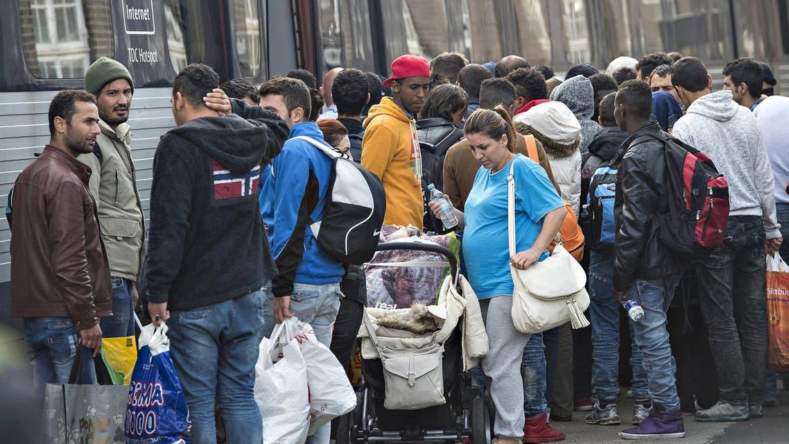 لاجئين في الدنمارك