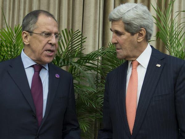 """كيري: دعم روسيا للأسد """"يصعد النزاع"""""""