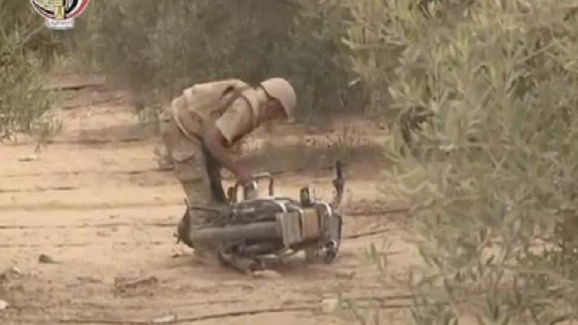 THUMBNAIL_ مقتل 98 إرهابيا و4 عسكريين بالعمليات في سيناء