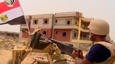 مقتل 98 إرهابيا و4 عسكريين بالعمليات في سيناء