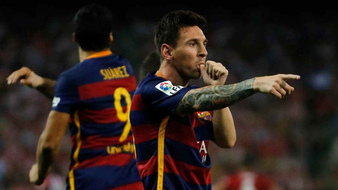 Barcelona leads the Spanish league after three straight wins, including at rival Atletico Madrid on Saturday. (File photo: AP)