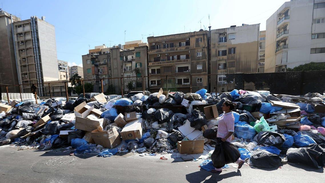 نفايات لبنان