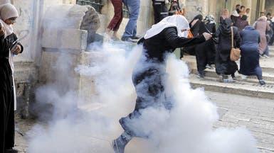 واشنطن قلقة من اشتباكات باحة المسجد الأقصى
