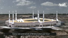 How did Makkah crane collapse?
