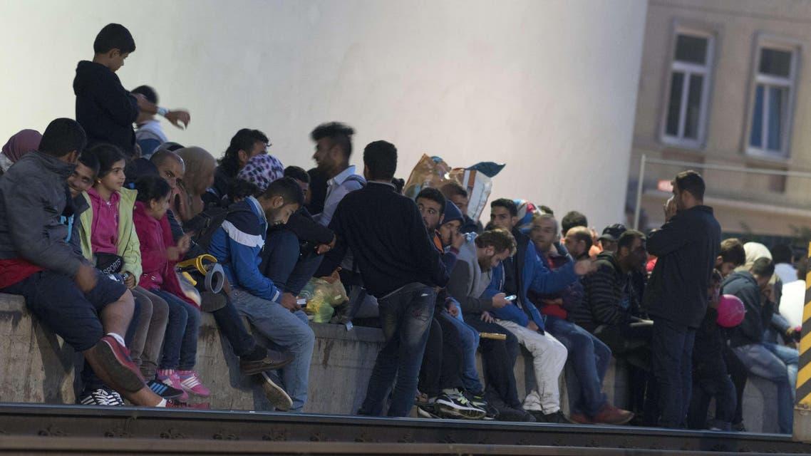 النمسا لاجئون