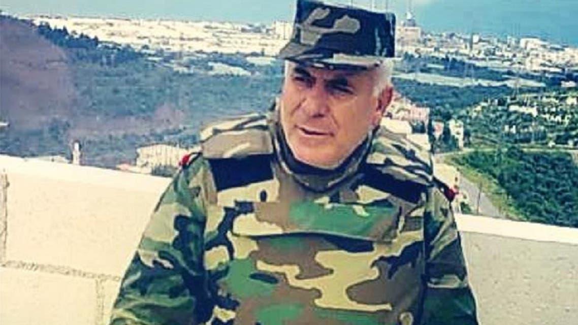 العميد المشمول بالعقوبات الأوروبية غسان عفيف