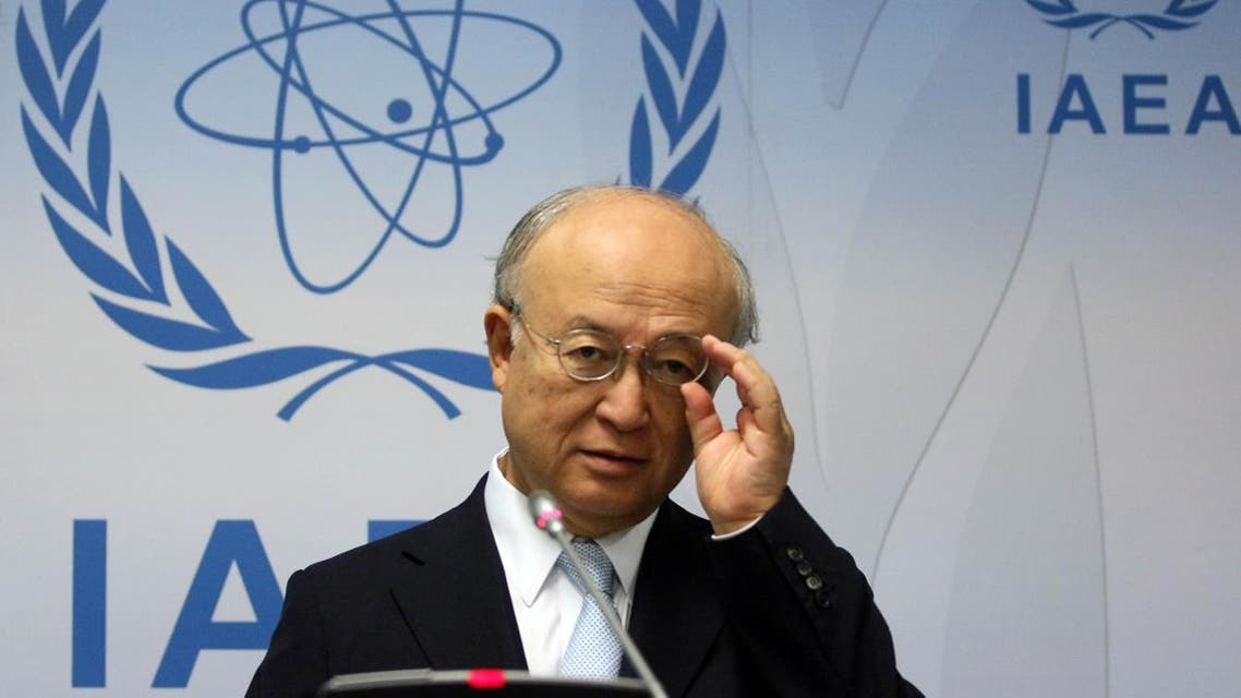 IAEA's Yukiya Amano is responsible for monitoring whether Iran complies with a nuclear deal reached with world powers on July 14. (File photo: AP)